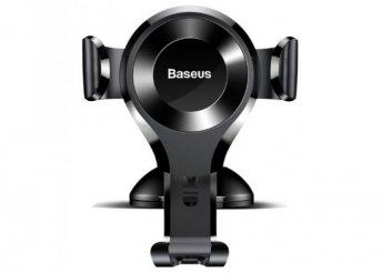 Baseus Osculum Gravity autós telefontartó - Fekete