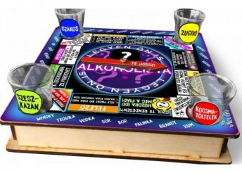 Ivós társasjáték 18 cm x 18 cm - Legyen Ön is Alkoholista