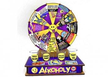 Szerencsekerék Ivós Társasjáték – Alkoholy
