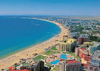 Nyaralás a bulgáriai Naposparton, repülőjeggyel, 3-4*-os szállásokkal, félpanzióval, 2 ebéddel