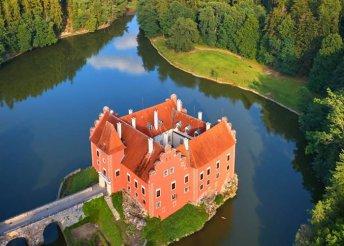 4 napos kirándulás dél-csehországi váraknál és kastélyoknál, buszos utazással, félpanzióval
