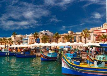 11 napos kaland a Földközi-tenger gyöngyszemein, Szicílián és Máltán, repülővel, reggelivel