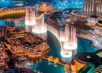 7 napos vakáció Dubajban, repülőjeggyel, 4*-os szállással, reggelivel, belépőkkel