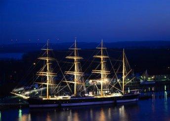 Hajózás északi tengereken Hamburgtól Malmőig, buszos utazással