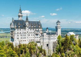 4 napos kirándulás Bajorországban, titokzatos kastélyok mentén, busszal, reggelivel