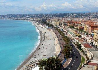 5 nap Dél-Franciaországban, a tengerparti Nizzában, repülőjeggyel, reggelivel, csillagtúrákkal