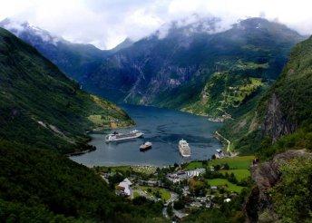 8 napos körutazás Norvégiában, repülőjeggyel, félpanzióval, 3*-os szállással