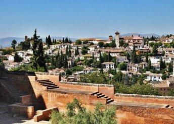 6 vagy 7 napos csillagtúra Andalúziában, repülőjeggyel, félpanzióval, 3*-os szállással