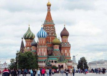 8 napos városnézés Moszkvában és Szentpéterváron, repülőjeggyel, reggelivel, 3-4*-os szállással