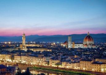 4 napos városnézés Firenzében, repülőjeggyel, illetékkel, reggelivel, 3*-os szállással