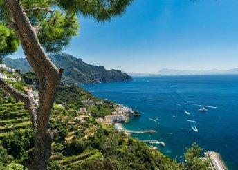 6 nap a Vezúv lábánál, Dél-Olaszországban, repülőjeggyel, illetékkel