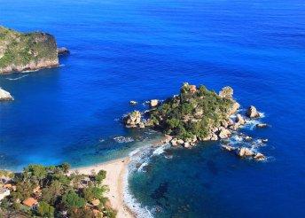 Vakáció Szicílián, buszos utazással, reggelivel, 3*-os szállásokkal, fakultatív programokkal, idegenvezetéssel