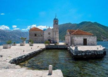 7 napos körutazás Montenegróban albániai kiruccanással, busszal, félpanzióval