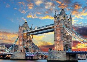 Városnézés Londonban sok-sok fakultatív programlehetőséggel, buszos utazással