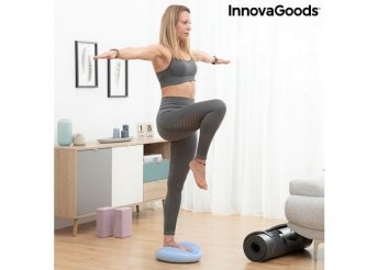 Egyensúlypárna felfújó szivattyúval Cushport InnovaGoods Sport Fitness