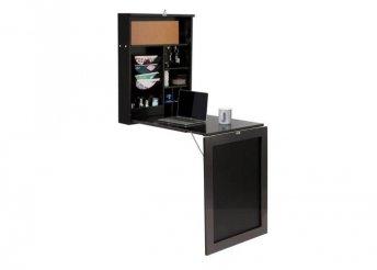 Lehajtható asztal - fekete