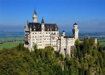 4 napos körutazás tiroli és bajor kastélyokhoz, busszal, reggelivel, idegenvezetéssel