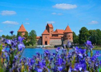 9 napos körutazás a Baltikum országaiban, busszal, félpanzióval, 3*-os szállásokkal, idegenvezetéssel