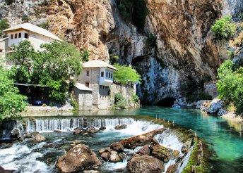 4 napos körutazás nyáron is Boszniában, busszal, reggelivel, idegenvezetéssel