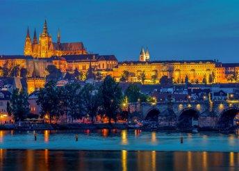4 napos városnézés Prágában, busszal, reggelivel, idegenvezetéssel