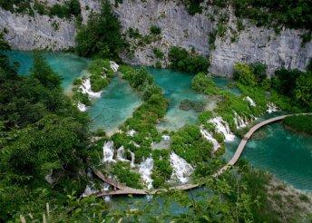 2 napos kiruccanás a mesés Plitvicei-tavakhoz, busszal, reggelivel, idegenvezetéssel, október 23-án is