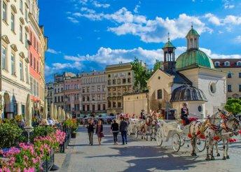 3 napos körutazás Lengyelországban, Krakkó, Wieliczka, Auschwitz és Zakopane érintésével