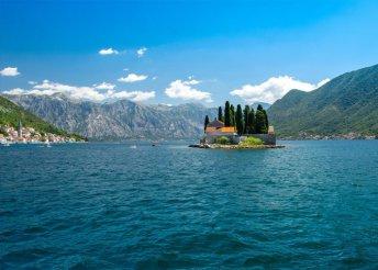 8 napos tengerparti nyaralás az Adrián, Montenegróban, buszos utazással, félpanzióval