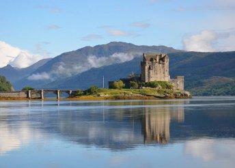 8 napos körutazás Skóciában, repülőjeggyel, helyi buszos utazásokkal, félpanzióval, idegenvezetéssel