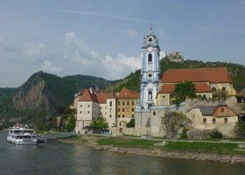 6 napos kirándulás a bécsi erdőtől az osztrák Dunakanyarig, busszal, reggelivel, 3-4*-os szállásokkal