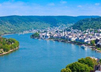 8 napos buszos körutazás Németországban, a Rajna és a Mosel völgyében, reggelivel