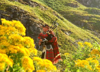 Körutazás Skóciában, busszal, önellátással, idegenvezetéssel