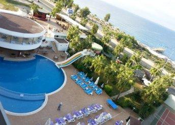 8 napos nyaralás a török riviérán, Alanyában, a Drita***** Hotelben, ultra all inclusive ellátással