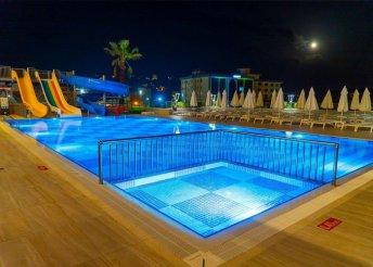 8 napos nyaralás a török riviérán, Alanyában, a Campus Hill***** Hotelben, all inclusive ellátással