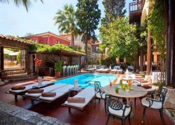 8 napos nyaralás Antalyában, az Alp Pasa**** Hotelben, félpanzióval, repülőjeggyel, illetékkel