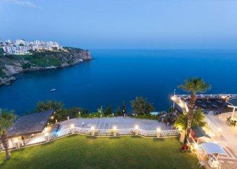 8 napos nyaralás Antalyában, a Falcon**** Hotelben, all inclusive ellátással