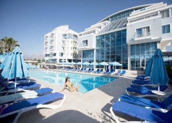 8 napos nyaralás Antalyában, a Sealife Family Resort***** Hotelben, all inclusive ellátással