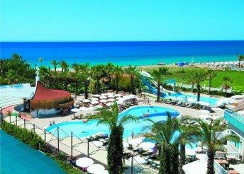 8 napos nyaralás Belekben, az Aydinbey Famous Resort***** Hotelben, ultra all inclusive ellátással