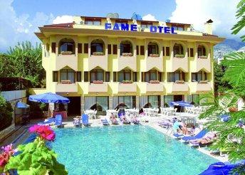 8 napos nyaralás a török riviérán, Kemerben, a Fame*** Hotelben, all inclusive ellátással