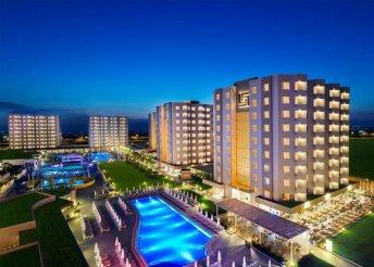 8 napos nyaralás a török riviérán, Kemerben, a Grand Ring***** Hotelben, all inclusive ellátással