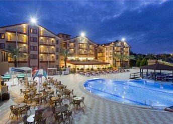 8 napos nyaralás a török riviérán, Sidében, a Hane Sun***** Hotelben, all inclusive ellátással