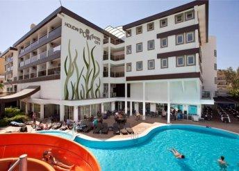 8 napos nyaralás a török riviérán, Sidében, a Holiday Point City**** Hotelben