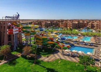 8 napos nyaralás Egyiptomban, Hurghadán, az Albatros Aqua Park**** Hotelben