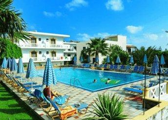 8 napos nyaralás Görögországban, Krétán, a Paloma Garden & Corina*** Hotelben