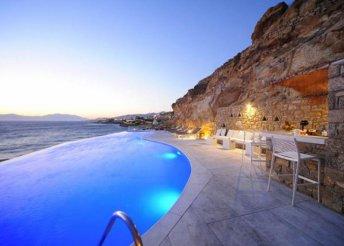 5 vagy 8 napos nyaralás Görögországban, Míkonoszon, a Mykonos Beach*** Hotelben