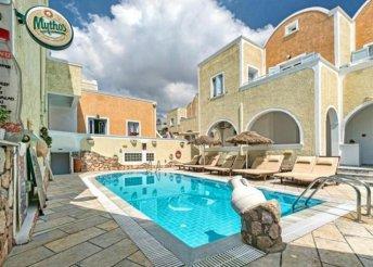 4 vagy 8 napos nyaralás Görögországban, Szantorinin, a Sellada Apartmanban