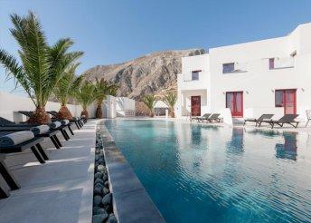 4 vagy 8 napos nyaralás Görögországban, Szantorinin, a Mar & Mar Crown Suites**** Hotelben