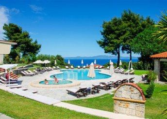 2 napos nyaralás Görögországban, Chalkidiki-félszigeten, az Alkion**** Hotelben