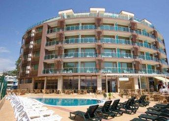 8 napos nyaralás Bulgáriában, Naposparton, a Sea Breeze*** Hotelben