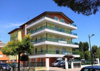 8 napos nyaralás Olaszországban, Caorléban, a Residence Alessandróban