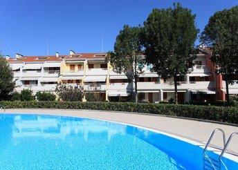 8 napos nyaralás Olaszországban, Caorléban, a Residence Riviérában